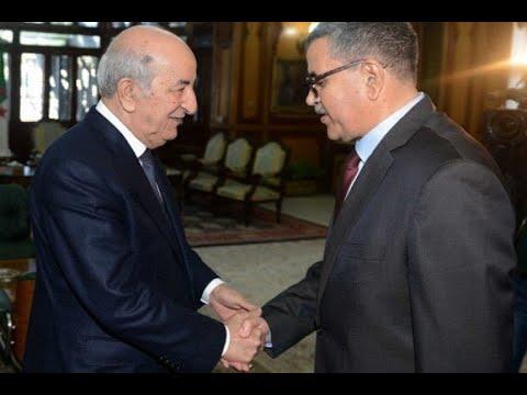 عبد العزيز جراد يقدم استقالة الحكومة لرئيس تبون