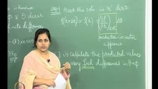Mod-01 Lec-39 Supersonic Flow Past A 3D Cone At An Angle Of Attack: Numerical Procedure