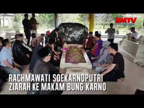 Rachmawati Soekarnoputri Ziarah Ke Makam Bung Karno