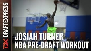 Josiah Turner - 2013 NBA Pre Draft Workout & Interview