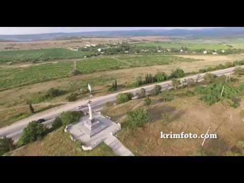 Мемориал Балаклавское сражение 13 октября 1854 года возле Балаклавы с высоты пти...