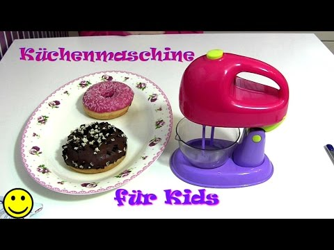 Elektronische Küchenmaschine für Kinder ♥ Mixer für die Kinderküche ♥ Test