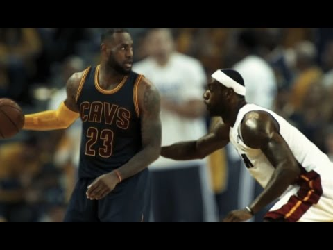 LeBron Vs LeBron. Will the King Stay in Cleveland? (Video)