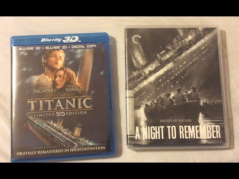 Titanic VS. A Night To Remember (1958-1997) - Film Discussion Review On Blu Ray