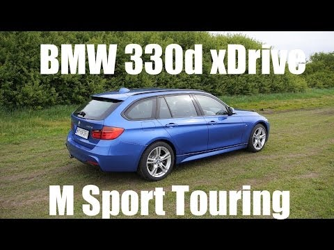 (ENG) 2014 BMW 3 Series Touring (F31 estate) – Test Drive and Review