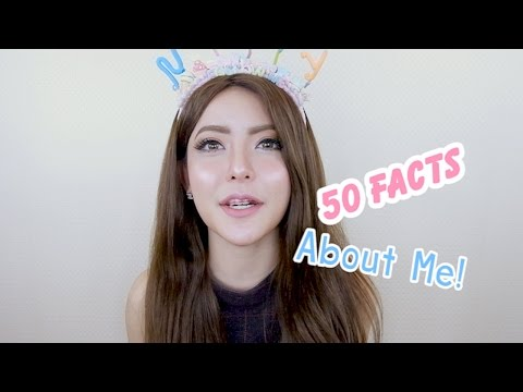 50 Facts About Me 50 เรื่องจริง เกี่ยวกับ L Nutty Nathamon