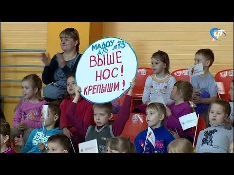 В спортивной школе Ледового дворца прошел День открытых дверей