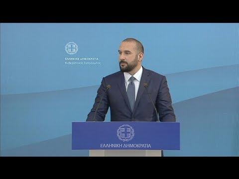 Δ. Τζανακόπουλος: Ο προϋπολογισμός θα περιλαμβάνει όλα τα μέτρα που εξήγγειλε ο πρωθυπουργός στη ΔΕΘ