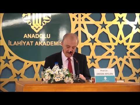 Prof. Dr. Orhan ARSLAN ile ''Yaratılış'' Konulu Konferans