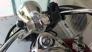 4. Kawasaki Vulcan 1700 with Cobra exhaust