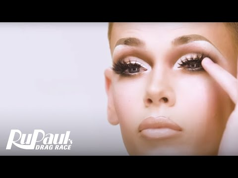 Blair St. Clair's 'Glow Up Lewk' Makeup Tutorial 🌟 | RuPaul's Drag Race Season 10