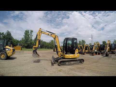 CATERPILLAR トラック油圧ショベル 305.5E2CR equipment video YfTMiPGXmCk