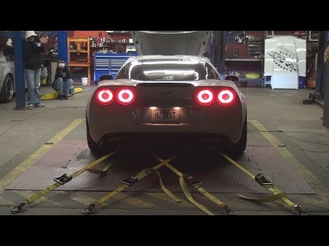 Z06 puts out more than 1200 horsepower on the dyno