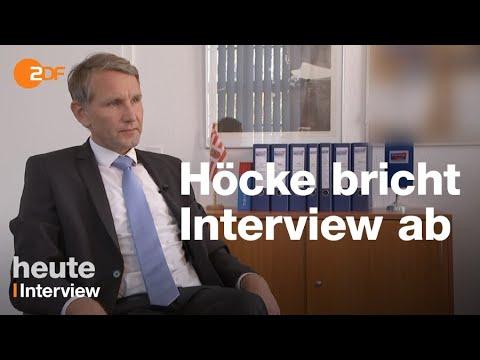 AfD & ZDF: Landeschef Höcke bricht Interview ab und d ...