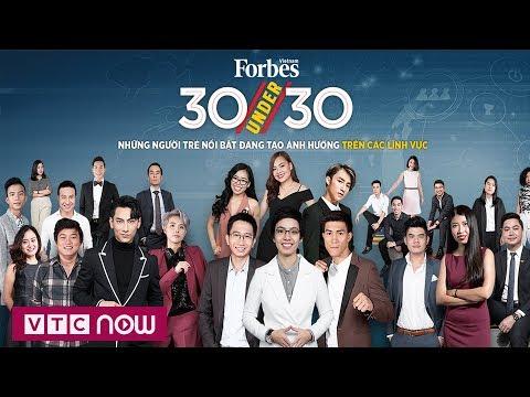 4 đại diện Việt Nam trong 30 Under 30 châu Á của Forbes | VTC1 - Thời lượng: 116 giây.
