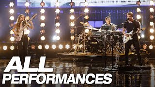Video All Of We Three's Full AGT Performances - America's Got Talent 2018 MP3, 3GP, MP4, WEBM, AVI, FLV Desember 2018