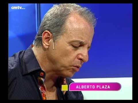 Alberto Plaza video Yo quiero ver la luna - Estudio CM 2014