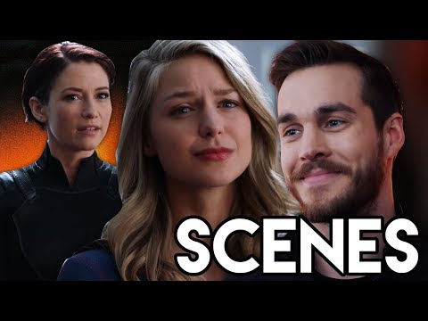 Mon-El LEAVES Reaction & Reign Attacks Alex - Supergirl 3x18 Scenes Breakdown