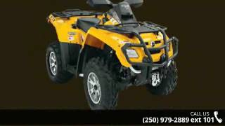 10. 2007 Can-Am OUTLANDER 500 H.O. EFI XT  - Banner Recreatio...