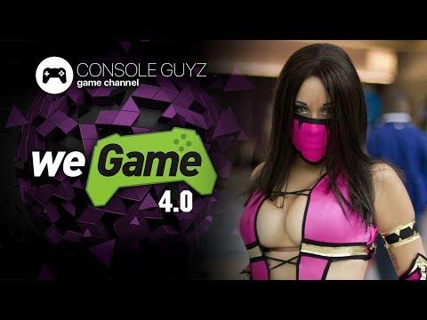 WEGAME 4.0 Игровая выставка в Киеве фестиваль косплея, киберспорта 21 апреля 🎮 Console Guyz ™️
