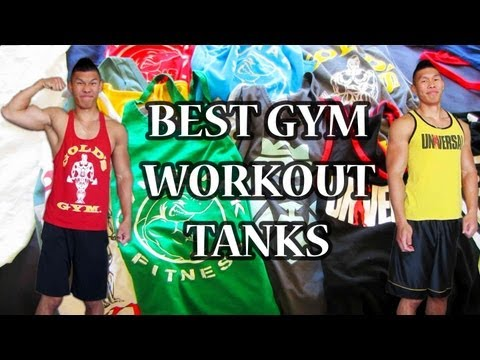 BEST WORKOUT MUSCLE TANKS FOR THE GYM - Life After College Vlog: Ep. 209