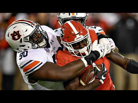 Best Upsets of the 2017-18 College Football Season | Part 2 (видео)