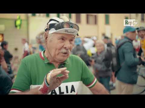 L'avventura di Nello, 81 anni in sella alla bicicletta d'epoca e nessuna Eroica persa