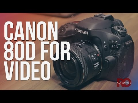 Canon 80D for Video