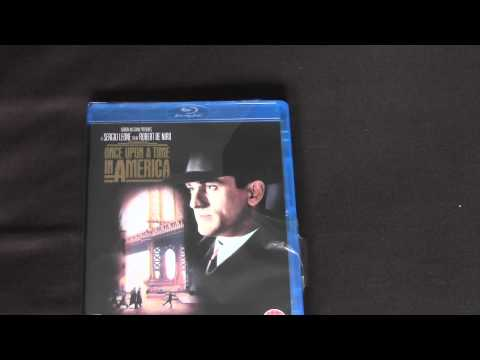 Once Upon A Time In America Blu Ray Unboxing