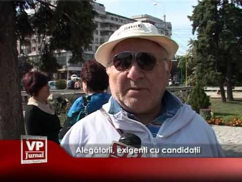 Alegătorii, exigenți cu candidații