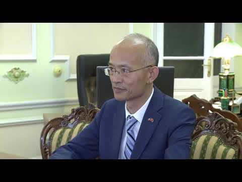 Președintele Republicii Moldova a avut o întrevedere de lucru cu Ambasadorul Republicii Populare Chineze în țara noastră