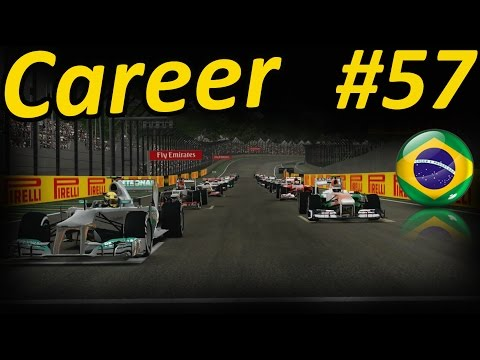 F1 - F1 2013 Career Mode Walkthrough Part 57: Sao Paulo Brazilian Grand Prix Interlagos - Force India Follow me on Twitter - https://twitter.com/Tiametmarduk Face...