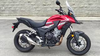 9. 2017 Honda CB500X ABS