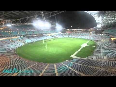 0 Sydneys Olympic Stadium Transforms In 24 Hours
