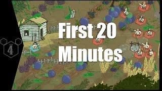 Primi 20 minuti di gioco