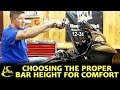 Download Lagu How to Choose the Proper Bar Height for Max Comfort - Harley Davidson Mp3 Free