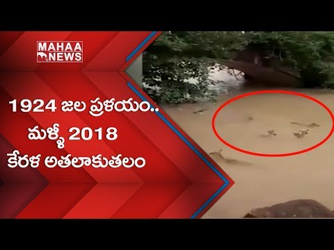 Kerala Floods LIVE: Heavy Rains & Floods Hit Kerala || Mahaa Entertainment