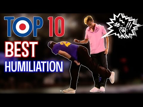 TOP 10 humiliation by Séan Garnier (видео)