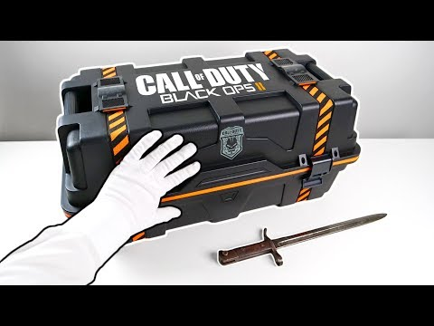 "Black Ops 2 ""CARE PACKAGE"" Unboxing! Call of Duty Black Ops II Collector's Edition"