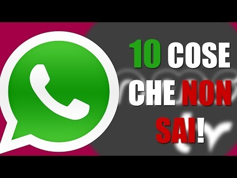 le 10 cose che certamente non sai su whatsapp!