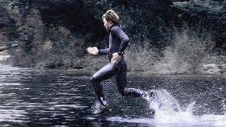 Correr em cima da agua Walk on water Sport HD