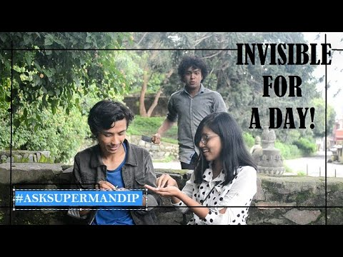 (Invisible For A Day! #AskSuperMandip - Duration: 4 minutes, 43 seconds.)