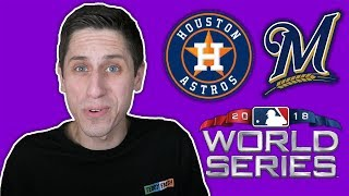 ASTROS vs BREWERS In The 2018 World Series Confirmed.