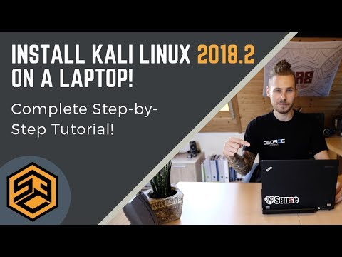 Install Kali Linux on Laptop (2018.2) - Step by Step!