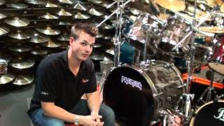 DrumWright General Manager Ian Wright talks you through the Premier Limited Edition Spirit of Maiden kit which we have signed by Nicko McBrain himself!