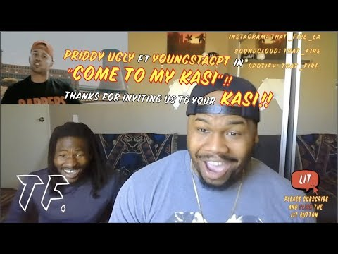 Priddy Ugly ft YoungstaCPT - Come To My Kasi (Official Music Video) (Thatfire Reaction)