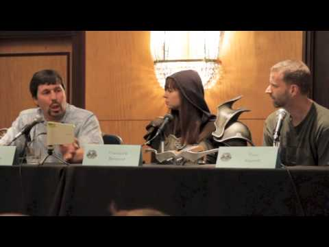RA Salvatore - Excerpts from the Sword and Laser panel at Dragon*Con 2012 with guest R. A. Salvatore.