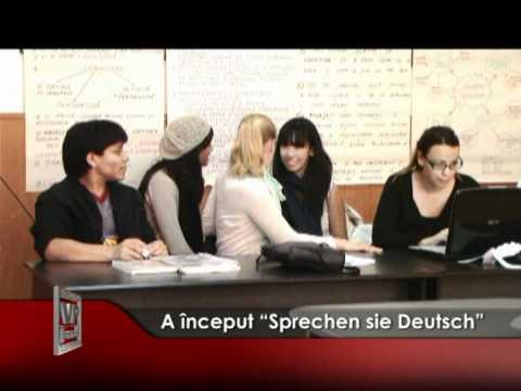 """A început """"Sprechen sie Deutsch"""""""