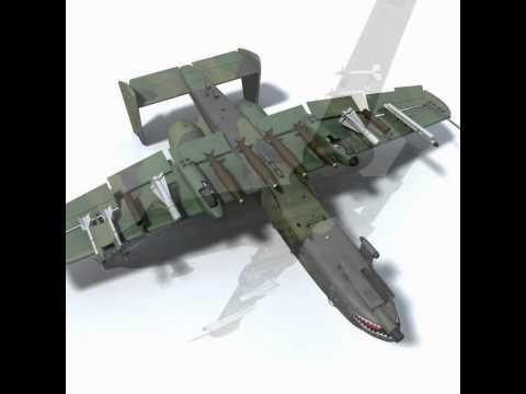 Download 3D Model Fairchild Republic...