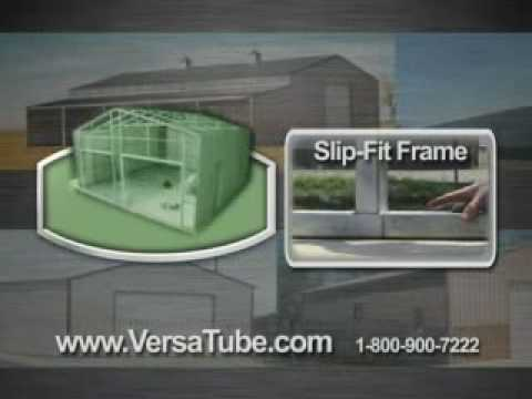 DIY Metal Building Kits by VersaTube Building Systems – TV Commercial
